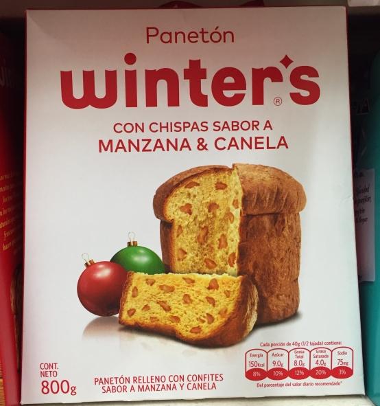 Panetón Winters